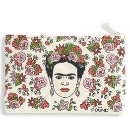 The Found Frida Zipper Pouch
