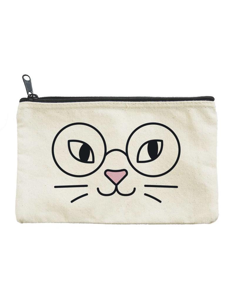 Seltzer Cat Glasses Pouch