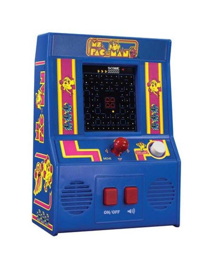 Schylling Mini Ms. Pac Man Arcade Game