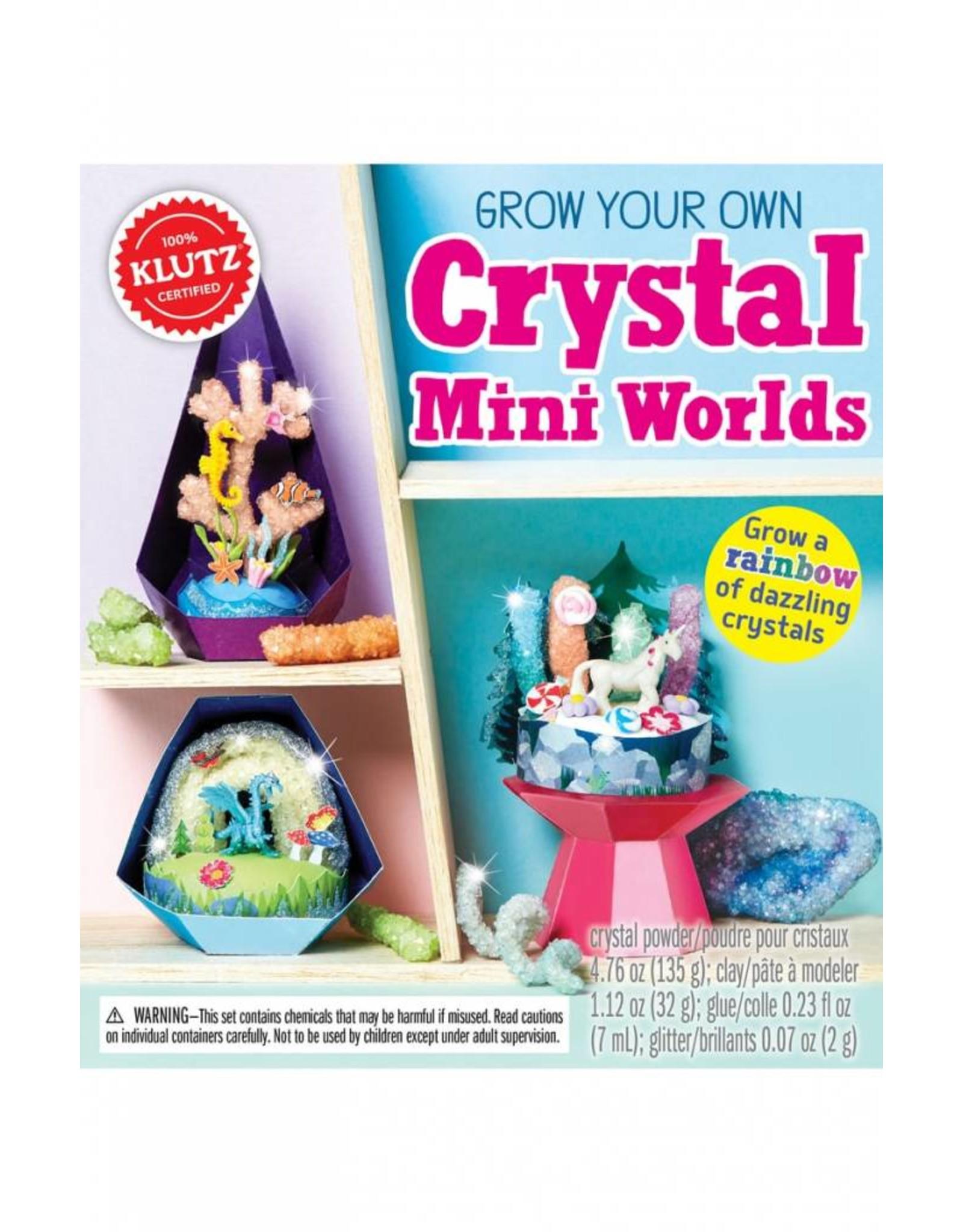 Klutz Crystal Mini Worlds Kit
