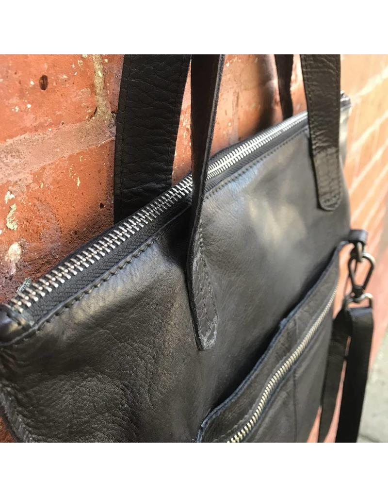 Latico Leathers Preston Black