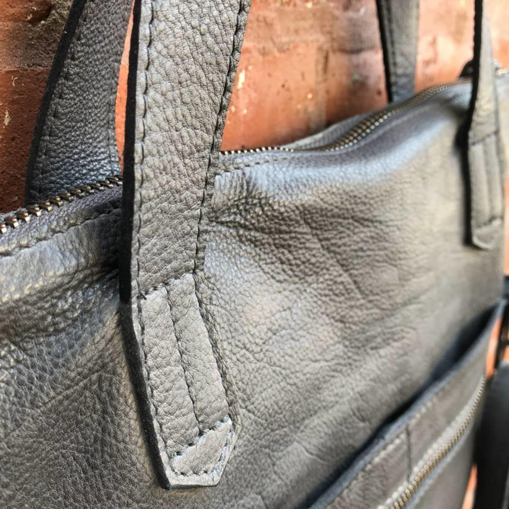 Latico Leathers Preston Charcoal