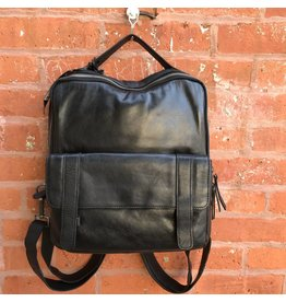 Latico Leathers Hester Backpack in Black