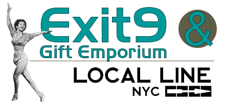 Exit9 Gift Emporium - Your favorite local gift store in Brooklyn. We also have a gift shop in the East Village, New York.