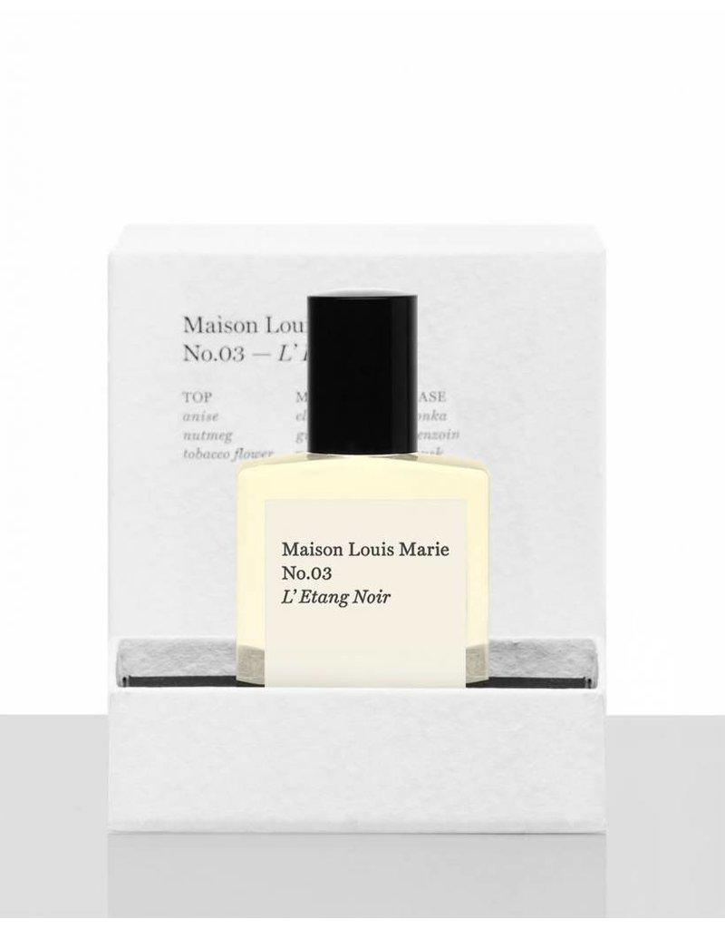 Maison Louis Marie MLM L'Etang Noir - No. 03 Perfume Oil