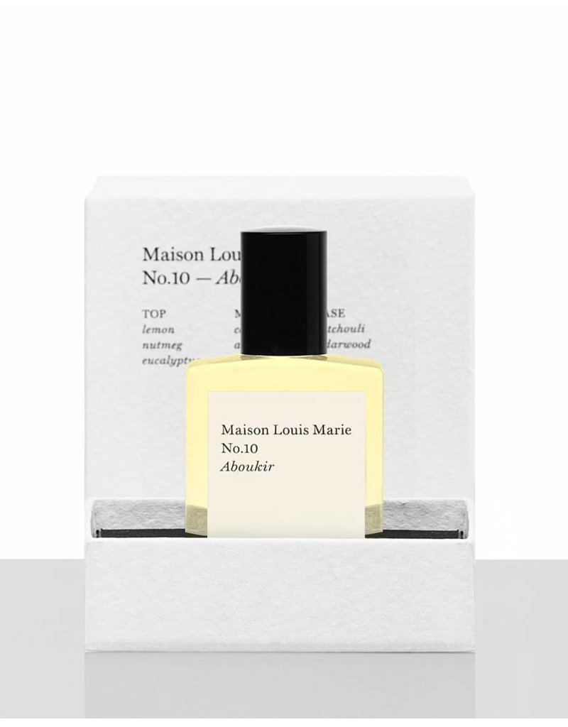 Maison Louis Marie MLM Aboukir - No. 10 Perfume Oil