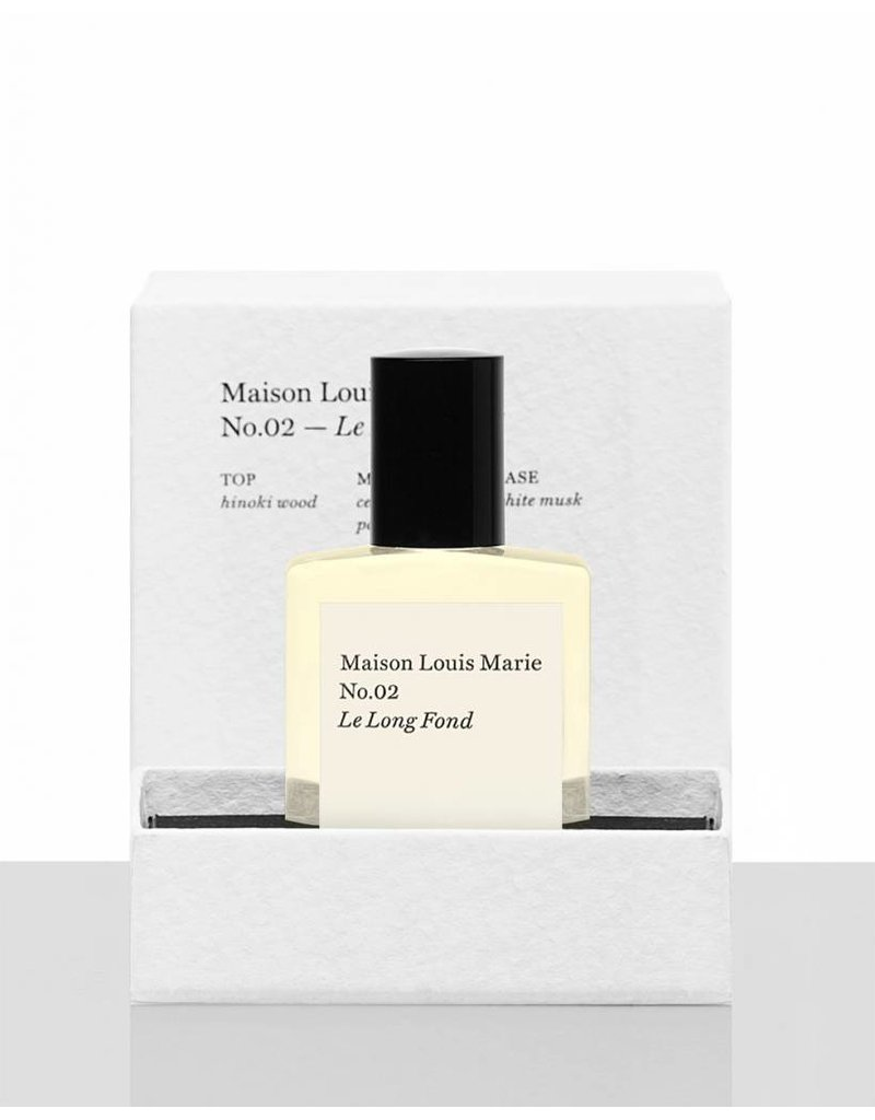 Maison Louis Marie MLM Le Long Fond - No. 02 Perfume Oil