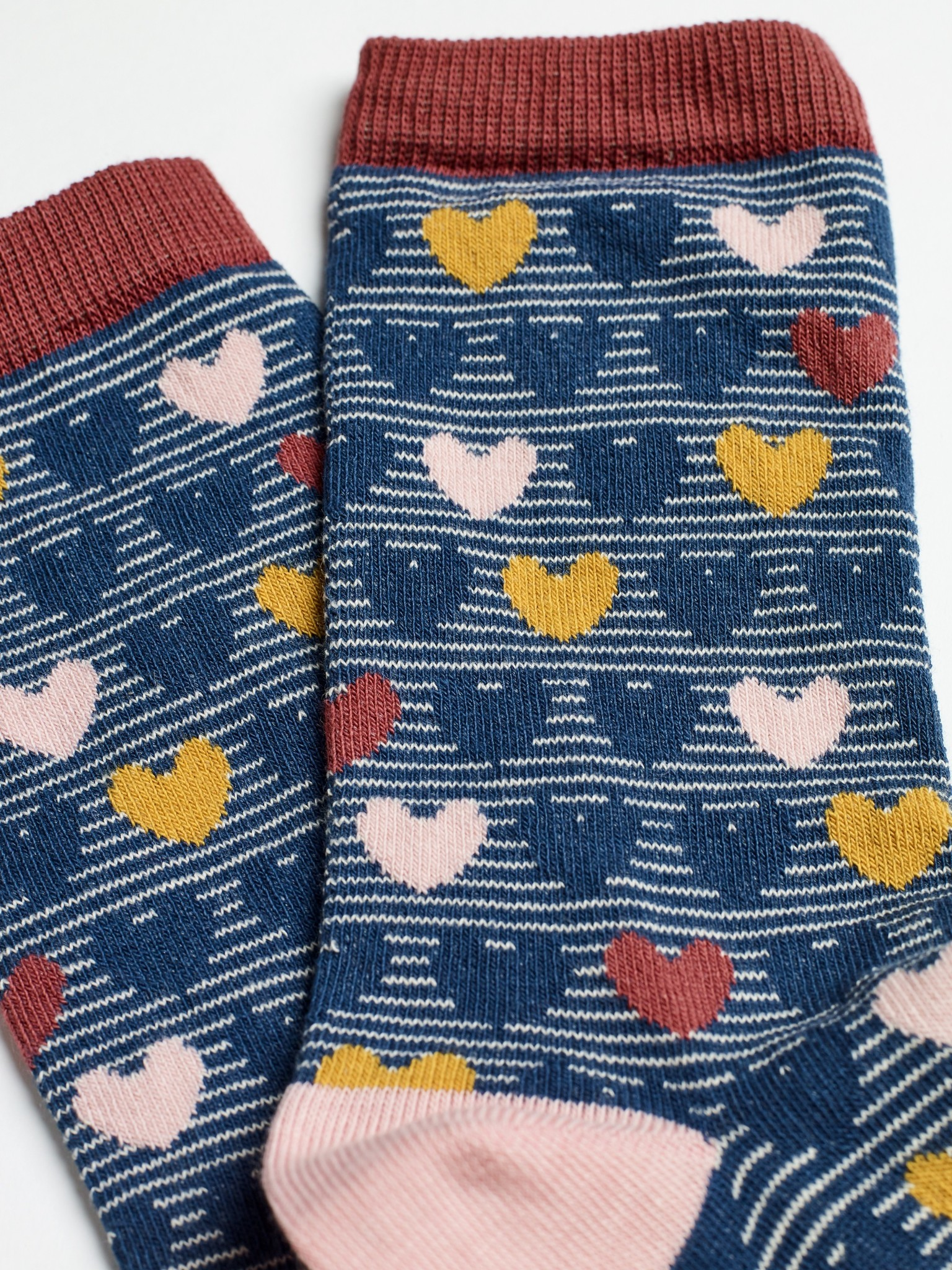 White Stuff HEARTS ORGANIC COTTON - 2PACK