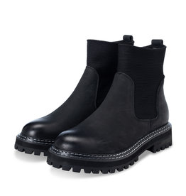 YAYA LEATHER CHELSEA BOOTS