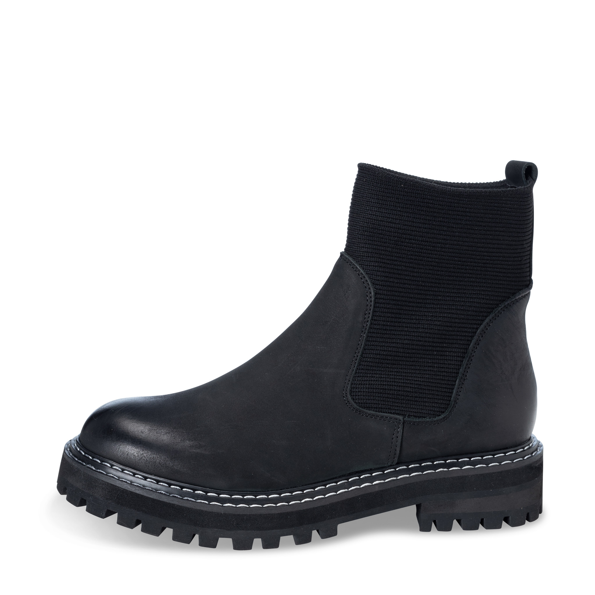 YAYA LEATHER CHELSEA BOOTS - 134358