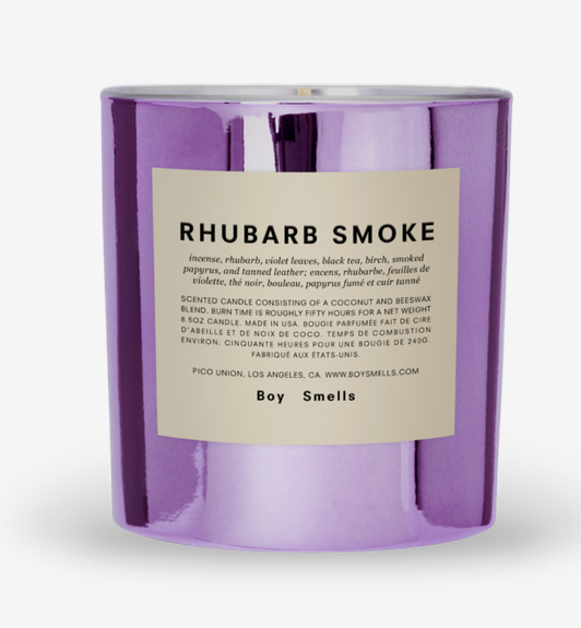BOY SMELLS RHUBARB SMOKE