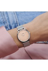 CLUSE Minuit Silver/Rose Gold