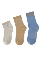 MOS MOSH MM LUREX SOCKS (3 PACK)