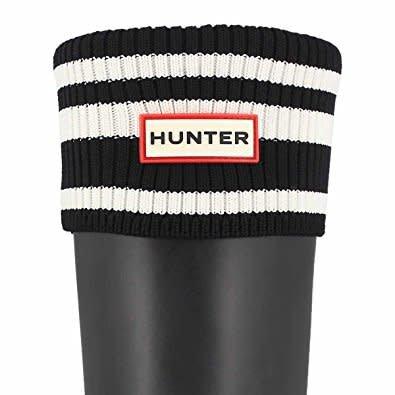 HUNTER Org. Tall stripe socks