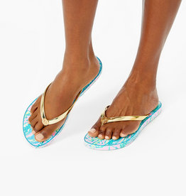 Lilly Pulitzer Pool Flip Flops
