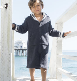 Barefoot Dreams Cozy Chic Kids ZipUp Starfish Robe