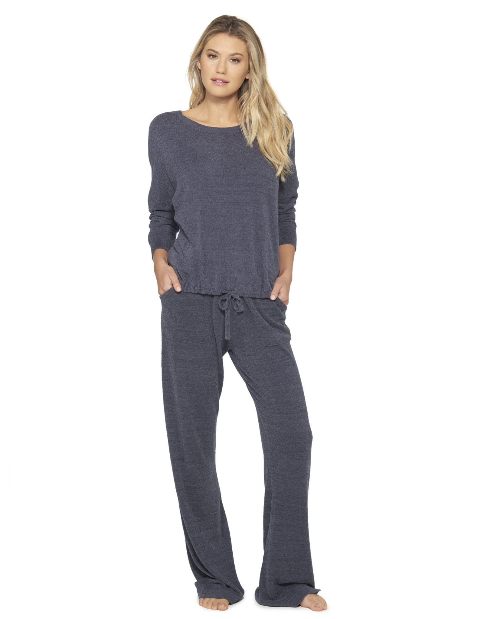 Barefoot Dreams Cozy Chic Ultra Lite Slouchy Pullover