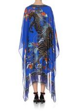 Camilla Long Sheer Overlay Dress