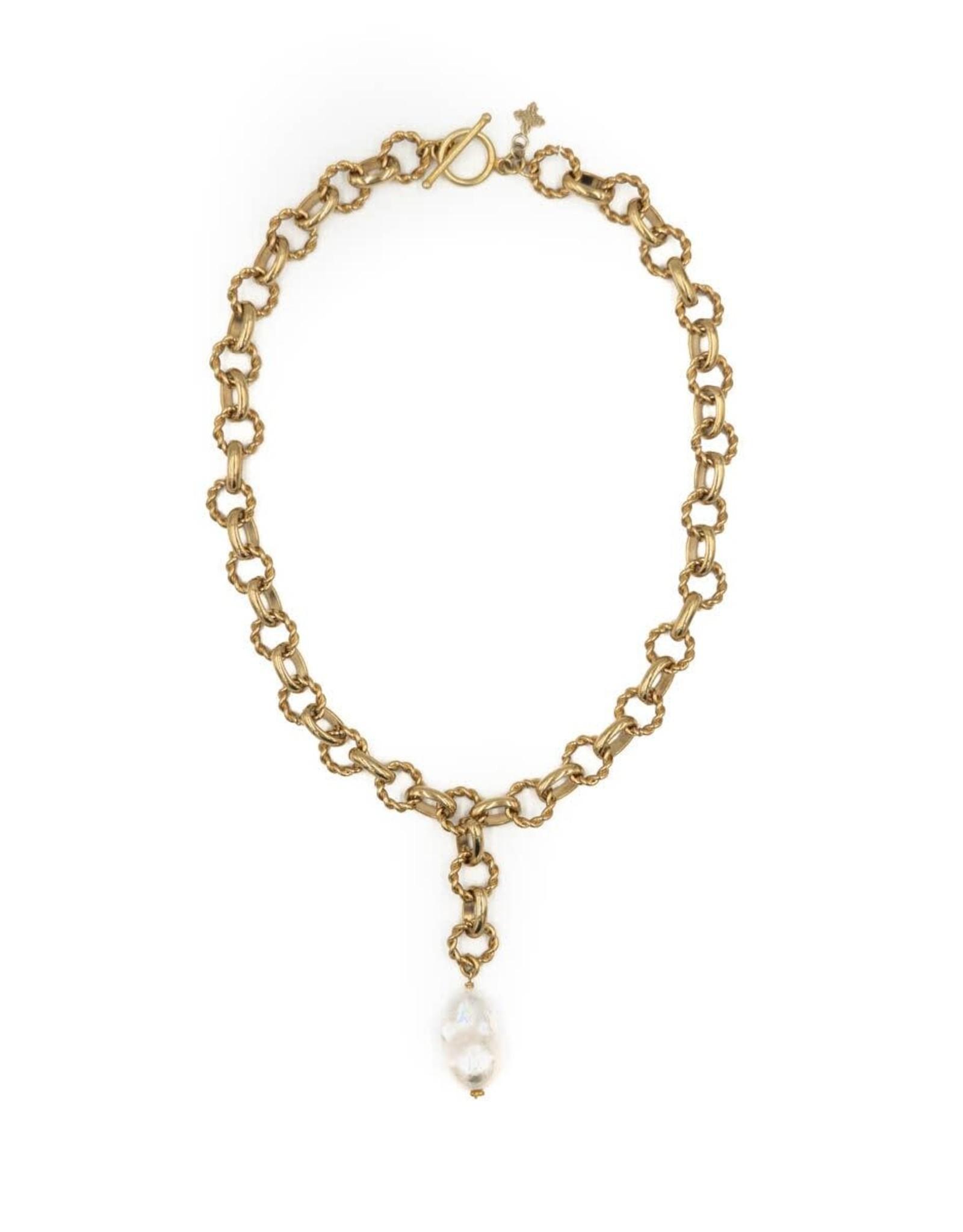 Hazen & Co. Holly Necklace
