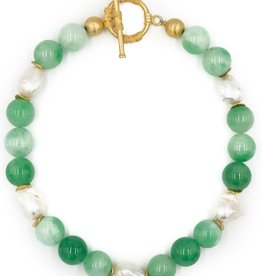 Hazen & Co. Annabelle Neck Green Jade