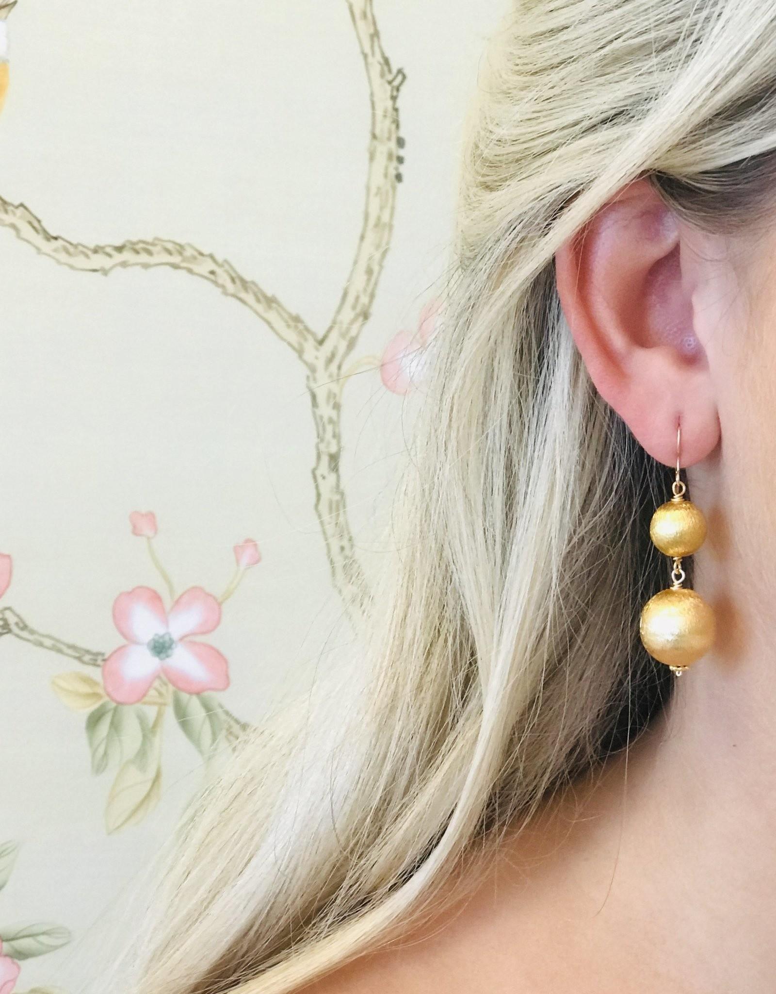 Hazen & Co. Dee Earring Double