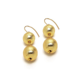 Hazen & Co. Dee Earring Double