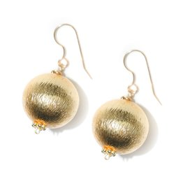 Hazen & Co. Dee Earring Single Gold