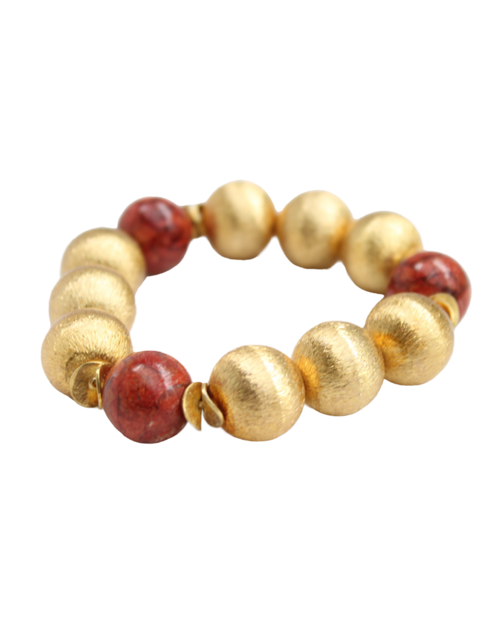 Hazen & Co. Madison Bracelet Coral
