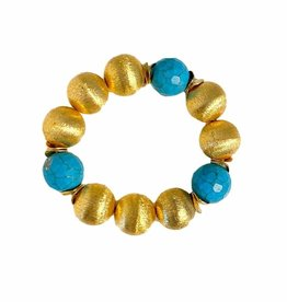 Hazen & Co. Madison Bracelet Large Turquoise