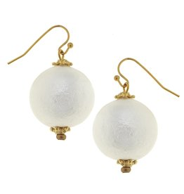 Susan Shaw Single Cotton Pearl Earring