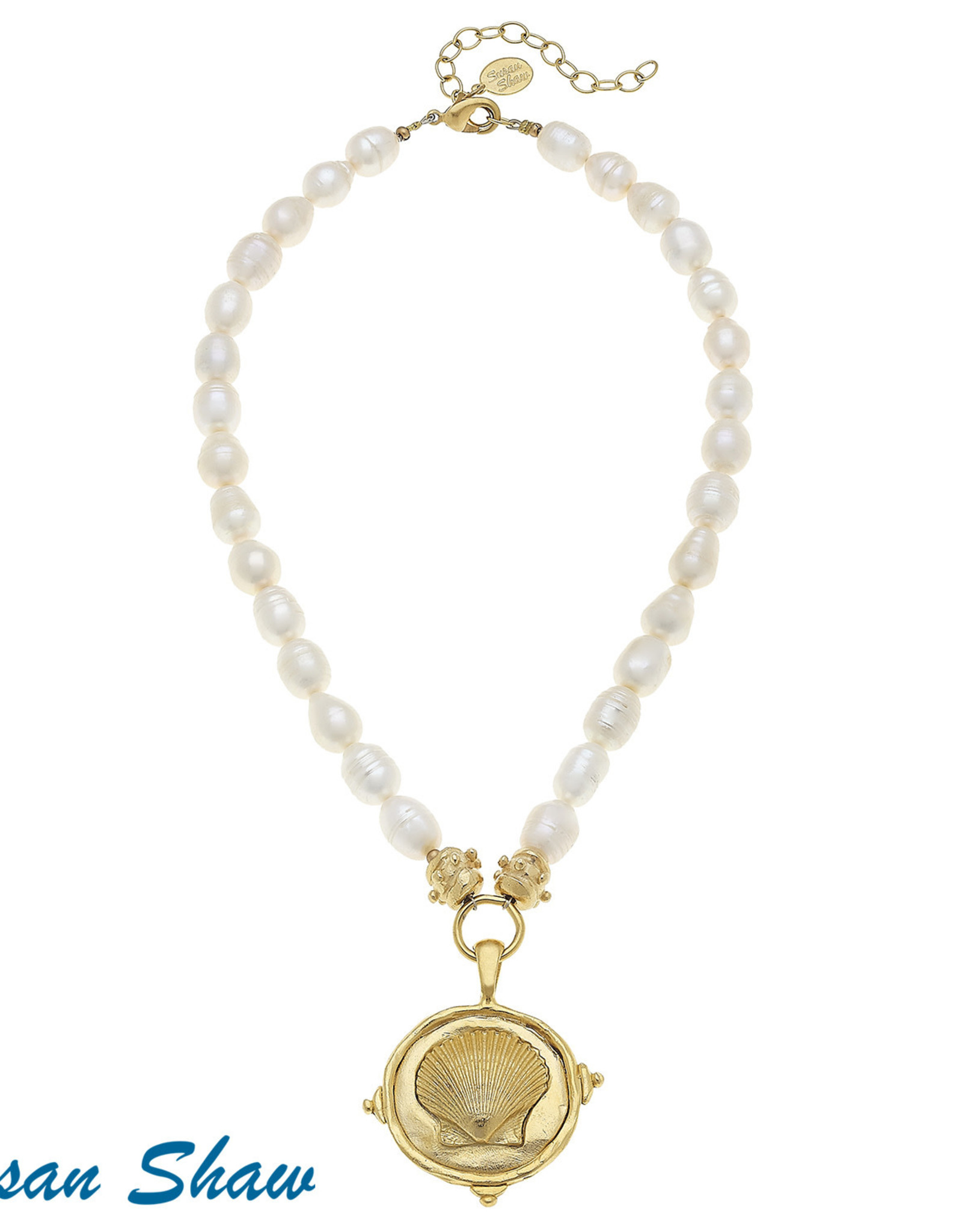 Susan Shaw Shell Necklace