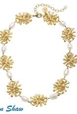 Susan Shaw Starburst Necklace