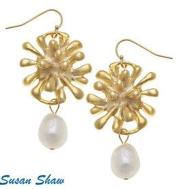 Susan Shaw Starburst Earring
