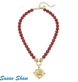 Susan Shaw Bulldog Necklace