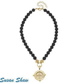 Susan Shaw Fleur de Lis Necklace