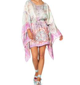 Camilla Short  Sheer Sleeve Kaftan