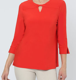 Lisette Emma Twist Neck Top