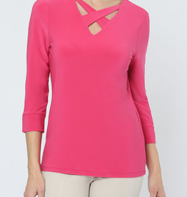 Lisette Emma Criss-Cross V-Neck