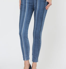 Lisette Petra Stripe Denim 28""