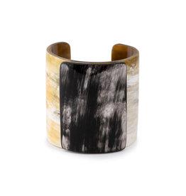 Vivo Wide Horn Cuff Bracelet