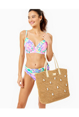 Lilly Pulitzer Sunstone Straw Bag
