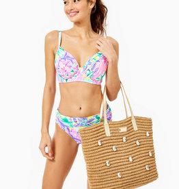 Lilly Pulitzer Sunstone Straw Bag