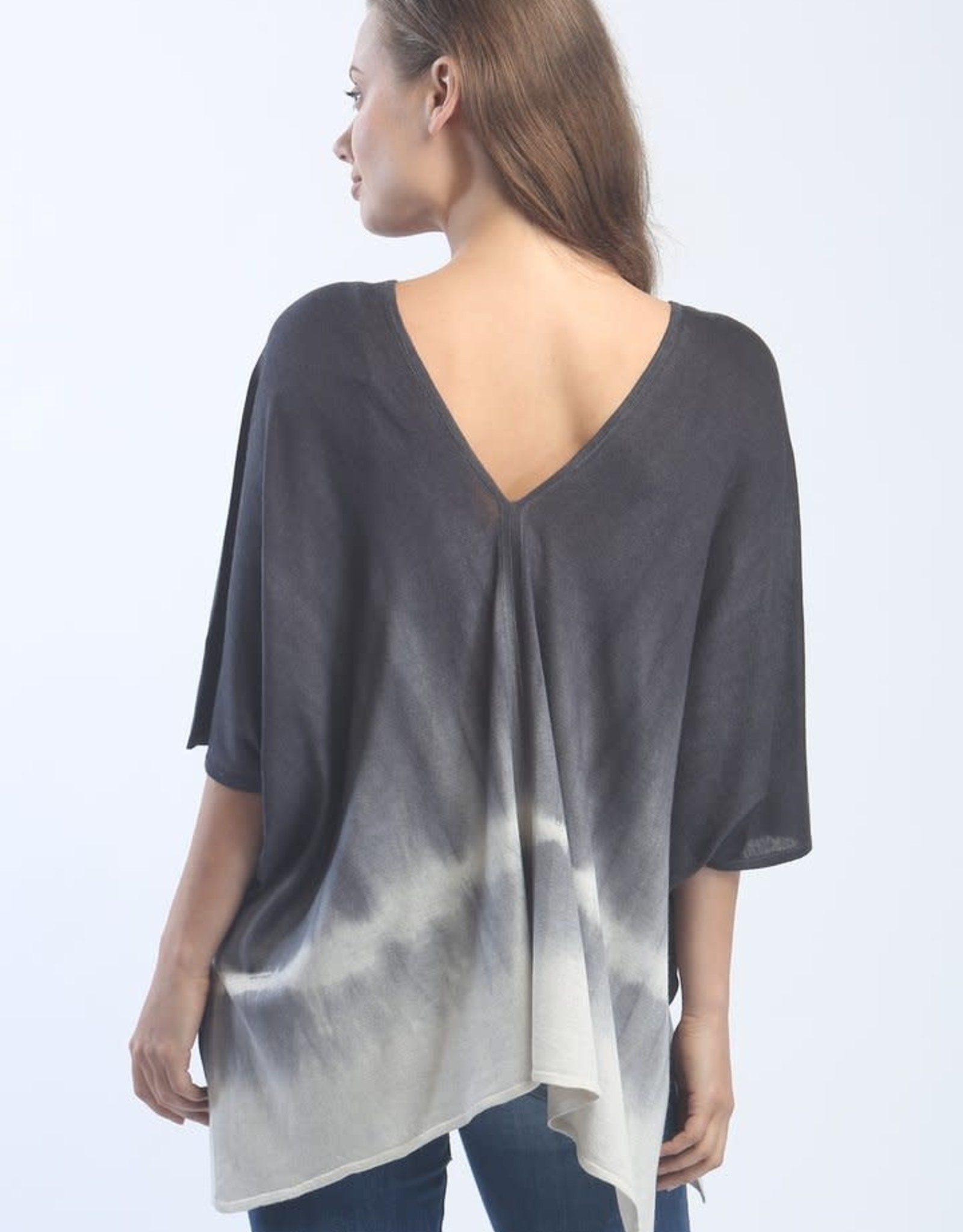 Zoe Couture Hand Dyed Poncho Tee