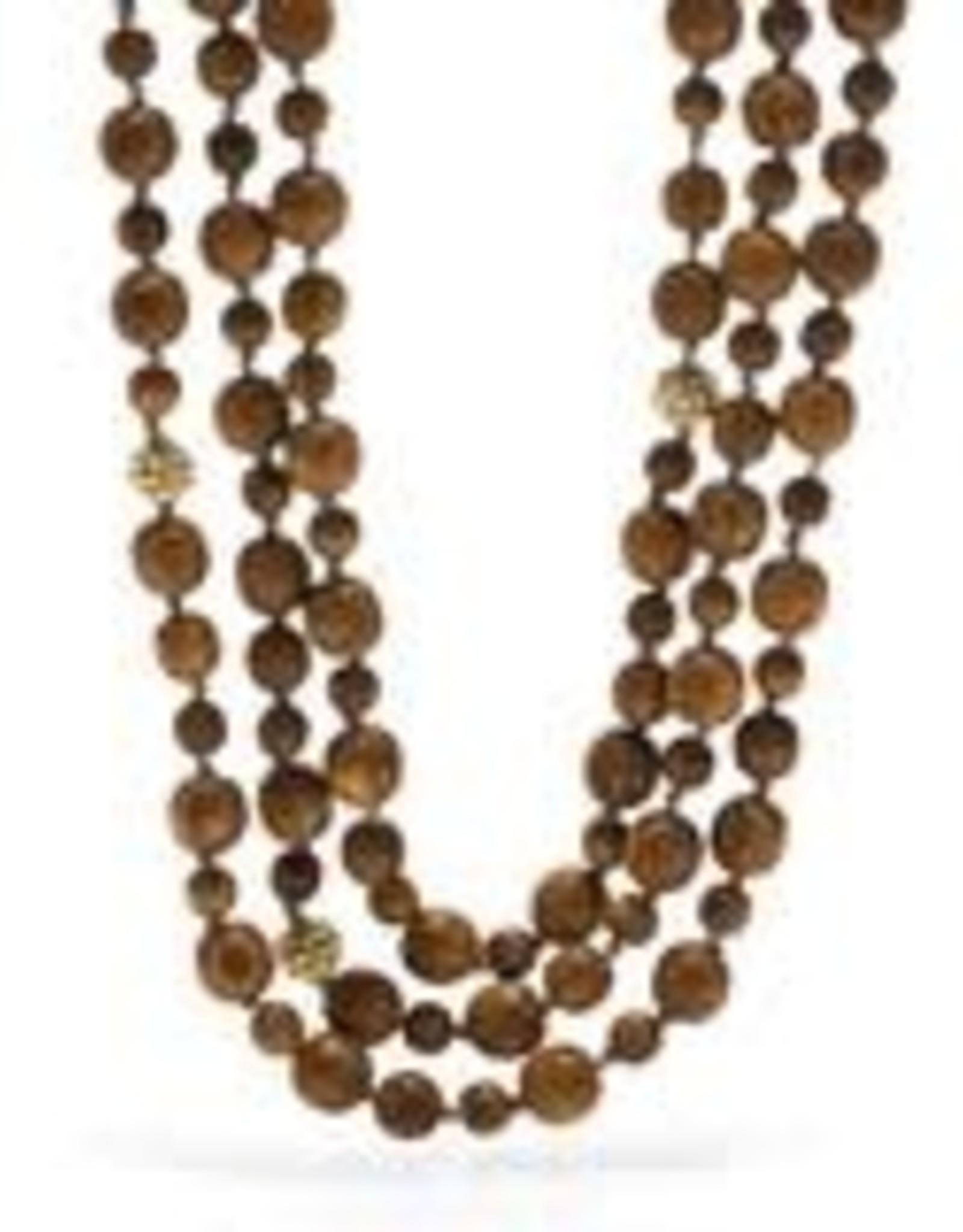 Capucine de Wulf Earth Goddess Beaded Necklace