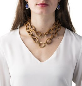 Capucine de Wulf Earth Goddess Link Necklace