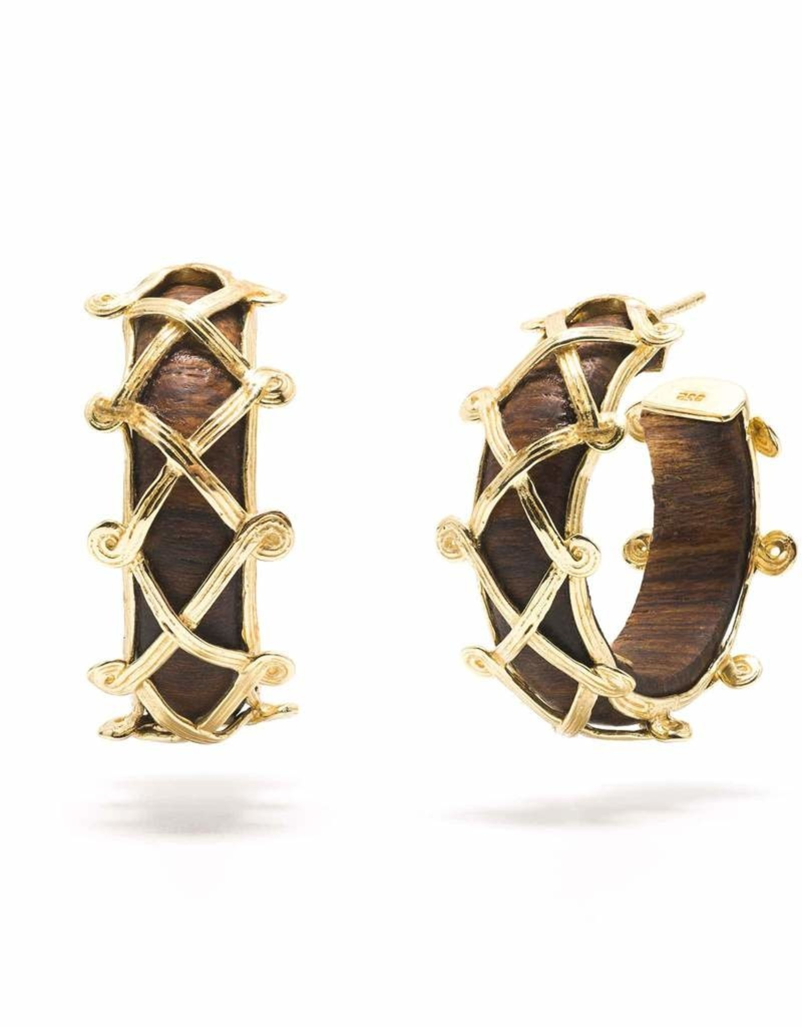 Capucine de Wulf Earth Goddess Hoop Earring