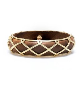 Capucine de Wulf Earth GoddessHinged Bangle