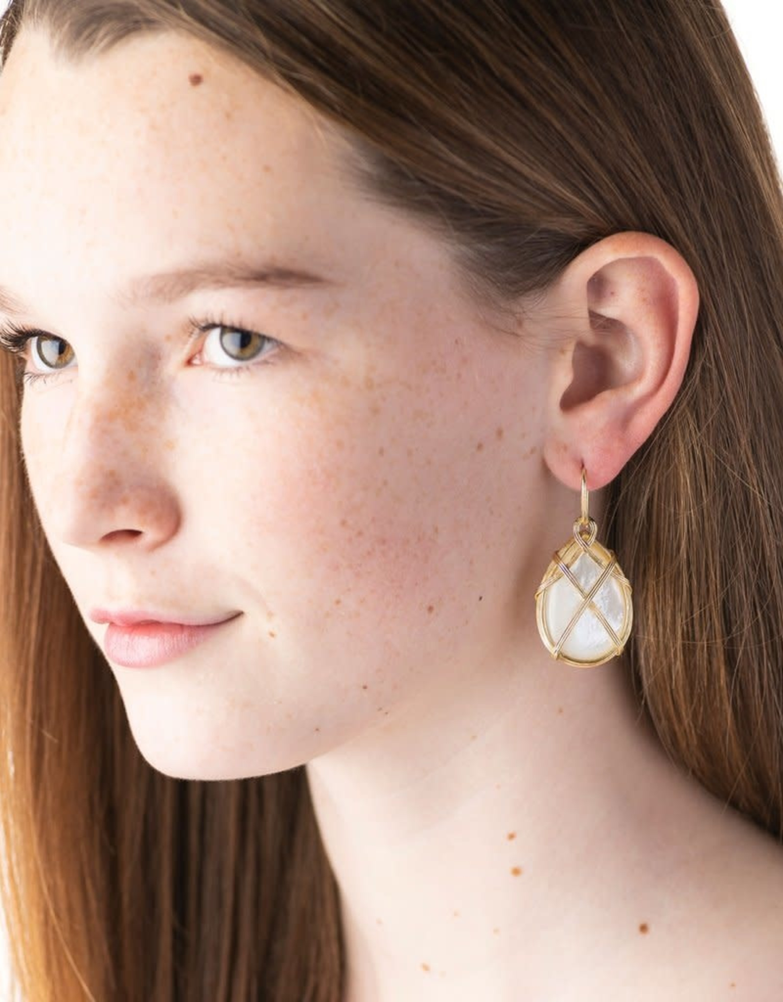 Capucine de Wulf Earth Goddess Drop Earring