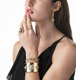 Capucine de Wulf Scarab Cuff Bracelet