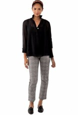 Gretchen Scott Solid Seamed Top